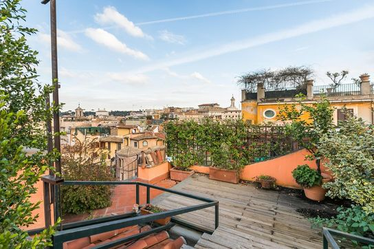 Large Terrace Penthouse Rome