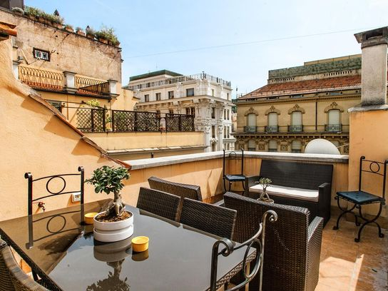 Spanish Steps Luxury Penthouse Rome